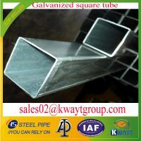 Galvanized Square pipe/tubing
