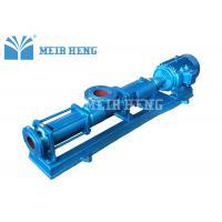 Cast Iron Single Screw Pump Horizontal Screw Pump For Slurry Sludge Axial Flow