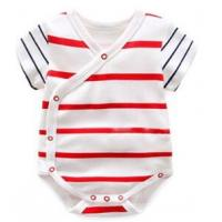 180 G 100% Cotton Summer Unisex Baby Wear With All Over Prints Placket