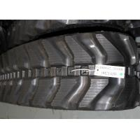 Kubota and komatsu mini excavator rubber track with size 300x52,5x80 for K028 / PC27MR