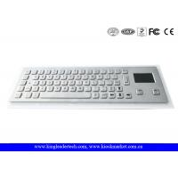 Dust-proof And Liquid-Proof Panel Mount Industrial Kiosk Touchpad Keyboard