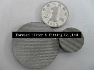 Single And Multi Layer Wire Mesh Filter Disc Used Screening Of Grain