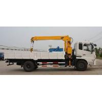 Customized Special Purpose Trucks Dongfeng 5 Ton Crane Truck For Cargo