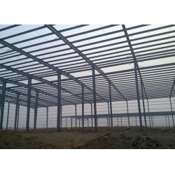 China Double Span Steel Industrial Building Construction With H Type Columns And Beams on sale