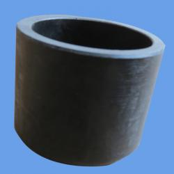 China PE100 HDPE Piping Fitting Butt Fusion End Cap PN16 For Water Supply on sale
