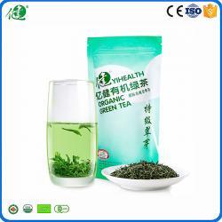 China China high quality fresh Organic green tea with NOP certified by China,EU,U.S,Japan on sale