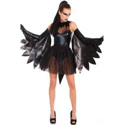 China Dark Raven Swan Dance Halloween Adult Costumes Fairies For Party Christmas on sale