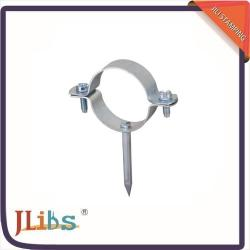 China Repair Square Nail Clamp Metal Pipe Clips High Performance ISO9001 Certification on sale