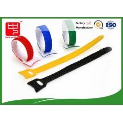 China Self Attaching Reusable hook and loop fastening tape with hole on sale