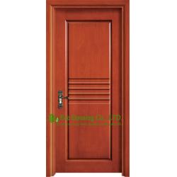 China Custom Mahogany Timber Veneer Wood Front Door For Villas, Smooth Surface Solid Wood Door on sale