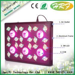 China Led Organic Gardening Hydroponic Lighting Demeter Series DM006 600w LED Grow Light For Wholesale on sale