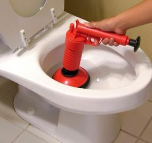 Compressed Air Pump Drain Cleaner