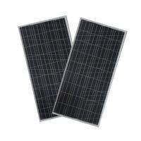 Waterproof  Polycrystalline Solar Panel IP65 , Silicon Solar Pv ModuleBlack TPT