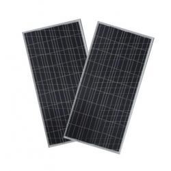 China Waterproof  Polycrystalline Solar Panel IP65 , Silicon Solar Pv ModuleBlack TPT on sale