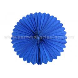 China Blue , Pink Hanging Paper  Fans / Tissue Paper Cardboard Artificial Style on sale