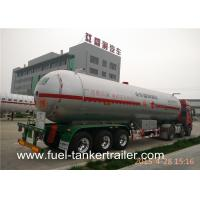 Lpg Cylinder Vacuum tank trailer With BPW Axle and Air Suspension
