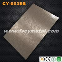 304 Salable etching sheet with hairline surface CY-003EB