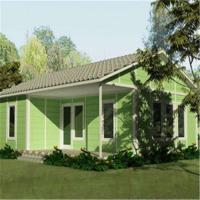 Ready Designed Low Cost Light Steel Frame Customized Prefab House Living Home