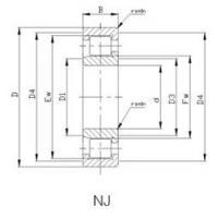 Precision Cylindrical Roller Bearings: NJ/NCF-V Cylindrical Roller Bearing NJ2322VH