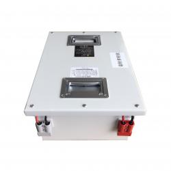 China Rechargeable Lithium Ion Phosphate Battery 24V 80AH For Shuttle Vehicle / AGV / RGV on sale