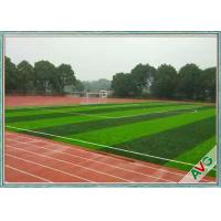 FIFA Standard Anti UV Football Artificial Turf With Woven Backing Monofilament PE
