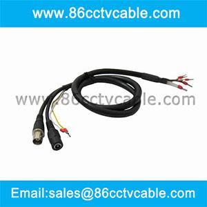 cctv ptz cable with rs485 connection for sale wires cables cable assemblies manufacturer