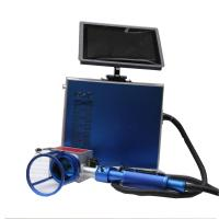 Stainless Steel Portable Laser Marking Machine For Metal Engraving , 2 Years Warranty