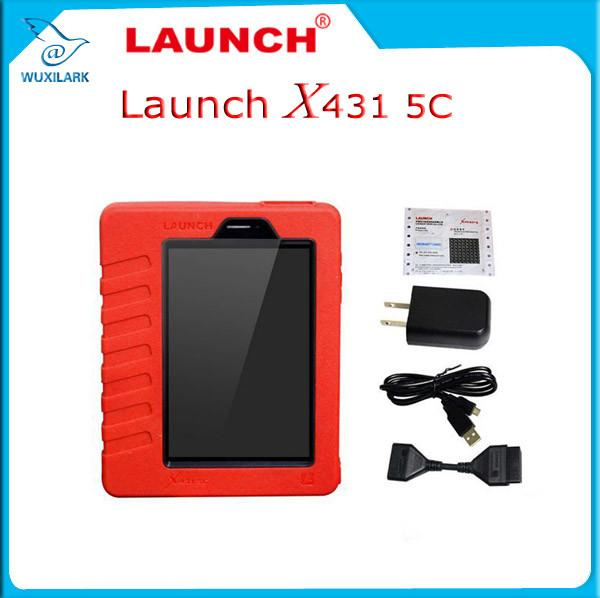 China Original Launch X431 5C Pro Wifi/Bluetooth Tablet Diagnostic Tool Full Set Online Update supplier