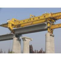 Large Girder Gantry Crane , bridge girder launcher 20ton - 900ton  with Electric Hoist