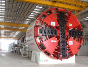 China 15KW TBM tunnel boring machine 250mm - 5000mm for Tunnel construction supplier