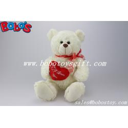 white wholesale stuffed teddy bears with low price