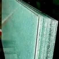 Chemically broken anti - theft Laminated tempered glass for decorative